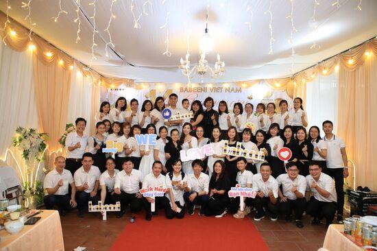 The 14th Year Establishment Anniversary of Babeeni Vietnam Company