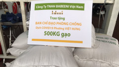 Babeeni donated 1,770 kgs of rice to the poor to fight against Corona