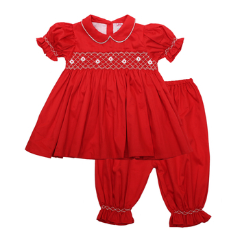little-girl-smocked-red-pajamas
