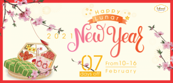 NOTICE OF LUNAR NEW YEAR HOLIDAY 2021
