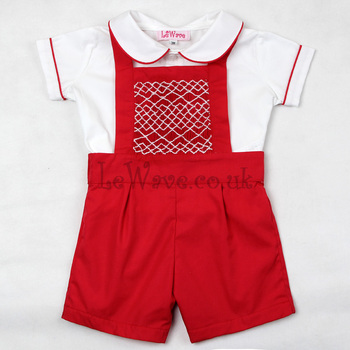 cute-red-geometric-smocked-outfit-for-boys-lb-19