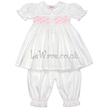white-geometric-and-flower-smocked-pajamas-for-baby-lp-019